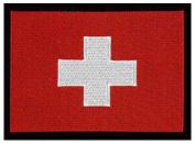 Switzerland Embroidered Patch 13cm X 10cm