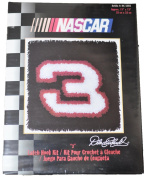 "Dale Earnhardt ""3"" Latch Hook Kit 13"" X 13"""