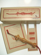Oxford Wood Punch Needle Rug Hooking Tool #24cm Regular w/ Box Booklet