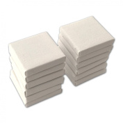 LWR Crafts Mini Stretched Canvas 5.1cm X 5.1cm Pack of 12