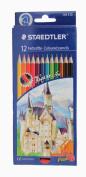 Staedtler Coloured Pencils, 12 Colours
