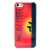 Vovotrade(TM) Hakuna Matata Rubber Soft TPU Case For iPhone 5C