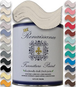Renaissance Chalk Finish Paint Qt - Superior Coverage, Non Toxic, Eco-Friendly - Alabaster