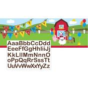 Farm House Fun Giant Party Banner w/Stck