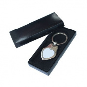 12pcs 7.5x3.5cm Peach Key Rings Heat Transfer sublimation Blank