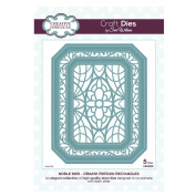 Craft Die CED5502 Sue Wilson Noble Collection - Ornate Piereced Rectangles