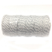 Wrapables 12-Ply Cotton Baker's Twine, 110-Yard, Grey