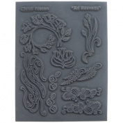 Great Create Christi Friesen Texture Stamp, 14cm by 11cm , Art Nouveau, 1-Pack