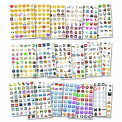 Blogger Emoji Sticker Pack-Instagram,Facebook,Twitter iPhone Emoji sticker,20sheets/pack- around 900+ Stickers