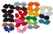 Mixed 21 Pairs 21color Size Handmade Sewing Fasteners Chinese Closure Knot Cheongsam Frog Buttons