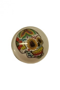 Snap Charming Flower Skull Interchangeable Jewellery Snap Accessory