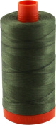 Aurifil Thread 2905 ARMY GREEN Cotton Mako 50wt Large Spool 1300m