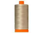 Aurifil Mako Cotton Quilting Thread 50 wt. #5021 Bamboo 1420 yd.