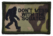 Don't Mess with the Sasquatch / Bigfoot 2x3 Military Patch / Morale Patch - Multiple Colours - Multicam