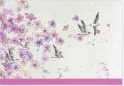 Birds in Flight Note Cards