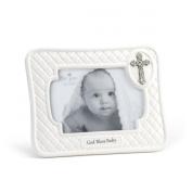DEMDACO Baby Frame, God Bless, 10cm x 15cm