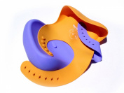 """McPolo's Very Smiley Parrot iBib ® LE COTY - The Distinctive """"iPhone-Sensation"""" Recognised in Baby Bib World in Limited Edition - Fitting Growing Babies from 3 MO to Toddlers & PreSchoolers with Smart Buttons"""