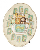 Dicksons Noah's Ark First Year Photo Frame