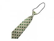 Pretied Polyester Satin Kids Toddler Neck Tie Children Necktie 28cm - BubuBibi