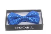 NEW Tuxedo Classic BowTie Sequin Neckwear Adjustable Unisex Bow Tie