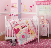 Bedtime Originals Bubblegum Jungle 3 Piece Bedding Set