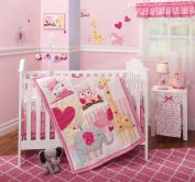 Bedtime Originals Bubblegum Jungle 3 Piece Bedding Set