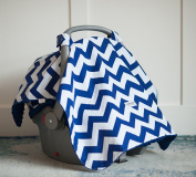 Carseat Canopy (Jagger) Baby Infant Car Seat Cover W/attachment Straps and Minky Fabric