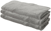Burt's Bees Baby Solid Changing Pad Cover- Heather Grey