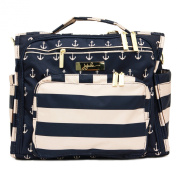 Ju-Ju-Be Nautical Legacy Collection B.F.F Convertible Nappy Bag, The Commodore