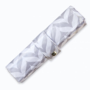 Nappy Changing Pad - Waterproof, Wipeable & Washable - Quilted Padding - GREY CHEVRON
