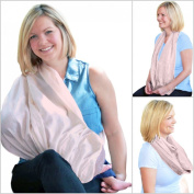 Chic Infinity Scarf Nursing Cover by Curasanas, Luxe Premium Bamboo Rayon
