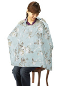 Simplicity Breastfeeding Nursing Poncho Cover Up, White Flower