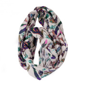 Itzy Ritzy Nursing Happens Infinity Breastfeeding Scarf, Boho Feather