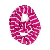 Itzy Ritzy Nursing Happens Infinity Breastfeeding Scarf, Pink Stripe
