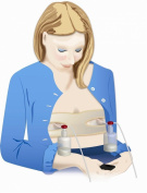 Pump Strap - Hands Free Breastpump Pumping Bra - ONE SIZE -