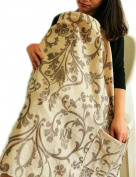 Vlokup® Baby Nursing Cover for Breastfeeding 100% Cotton Flower