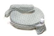 Zenoff Products Nursing Pillow Slipcover Flower Key, Grey