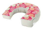 Fisher-Price Perfect Position 4-in-1 Nursing Pillow Cover, Pink Hibiscus