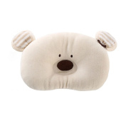 Merryshop@ Prevent Flat Head Toddle From Baby Head Support Pillow -Bear