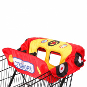 Little Tikes Cosy Coupe Shopping Cart Cover, Red/Yellow/Blue