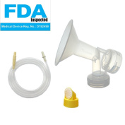 Swing Tubing and Breast Pump Kit for Medela Swing Breastpump. Include 1 Medium Breastshield (Comparable to Medela Personalfit 24mm), 1 Valve, 1 Membrane, and 1 Replacement Swing Tubing for Medela Swing Pump. Replace Medela PersonalFit 24mm breastshield ..