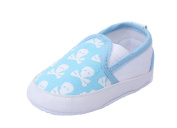 JTC Baby Crawl Crib Skull Printed Slip- On Leisure Single Shoes