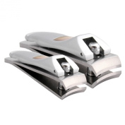 Klipit Nail Clipper Set - Fingernail + Toenail - Stainless Steel
