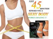 Ultimate Body Wraps Applicator - Most Effective Wrap - 4 Wraps Plus Get 1 FREE - It Works in Just 45 minutes - Body Detox, Tone, Firm, Reduces the Appearance of Cellulite and Stretch Marks * Do you want a Smooth Stomach, Legs, or Arms. Easy to Use No M ..