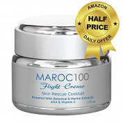 Anti Ageing Face Cream Pure Organic Ingredients Restoring Youthful Dewy Plump Skin with Powerful Botanical & Marine Extracts