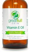 Vitamin E Oil By GreatFull Skin, 100% Natural - 10000 IU, 30ml