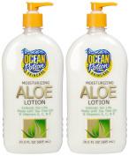 Ocean Potion Aloe After Sun Lotion-610ml, 2 pk