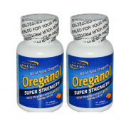 North American Herb and Spice Co., Oreganol Super Strength Oil of Wild Oregano, 60 Softgels per bottle