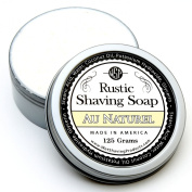 WSP Artisan Rustic Shaving Soap Made in America 120ml Natural Ingredients Paraben Free for Sensitive Skin Hypoallergenic