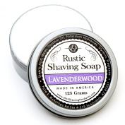 WSP Artisan Rustic Shaving Soap Made in America 120ml Natural Ingredients Paraben Free